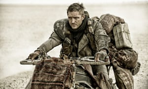 """It really is a strange film"" ... Peter Bradshaw on Mad Max: Fury Road, starring Tom Hardy."