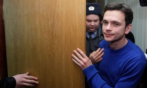 Russian opposition activist Ilya Yashin.