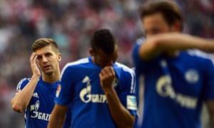 Schalke's players