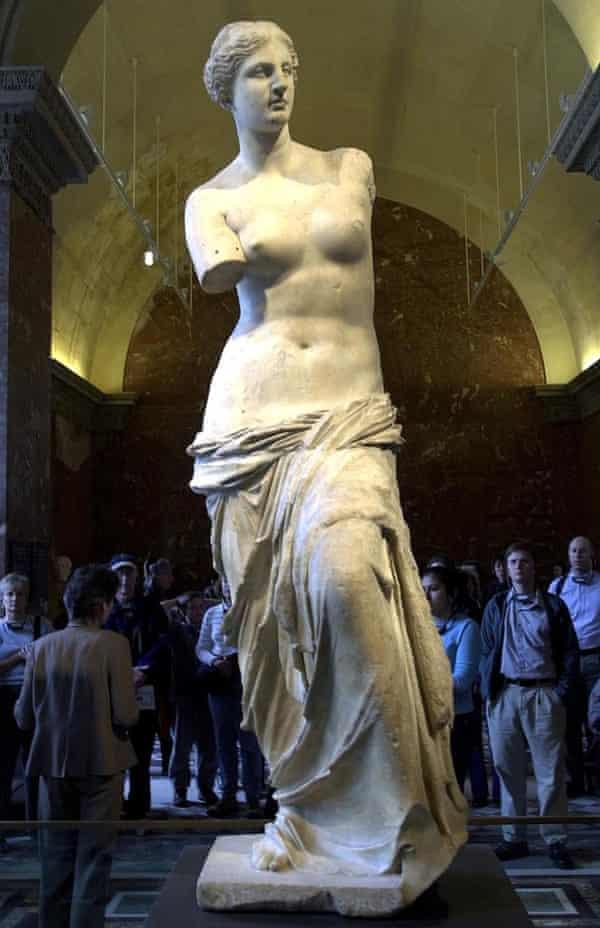 The Venus de Milo at the Louvre.