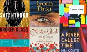Man Booker International shortlist 2015 composite