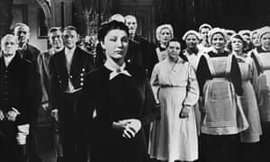 Judith Anderson as  Mrs Danvers in Hitchcoclk's Rebecca.