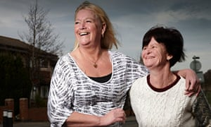 Salt-of-the-earth mums … Julie and Sue in Benefits Street. Photograph: Richard Ansett/Channel 4