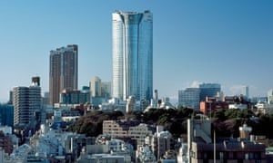 Roppongi Hills: 724,000 square metres of floor space distributed among four high-rises and a warren of passages.