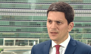 David Miliband speaks out and rules himself out of the Labour leadership contest.