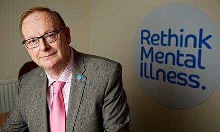 Mark Winstanley, chief executive of Rethink Mental Illness