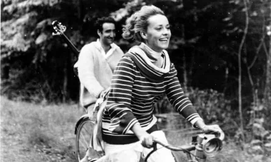 Jeanne Moreau in Truffaut's 1962 film Jules et Jim.