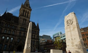 St Peter's Square in Manchester