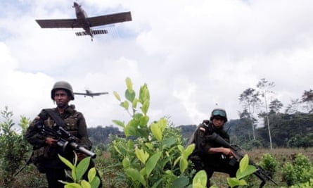 Fumigations in Colombia could be suspended after World Health Organisation research and statements by Colombian authorities.