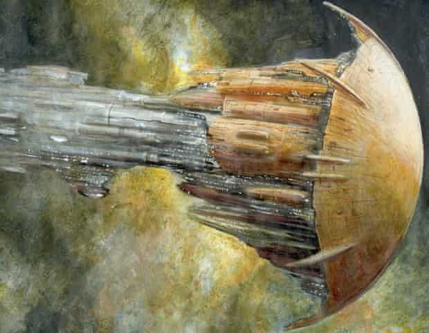 Titan spaceship
