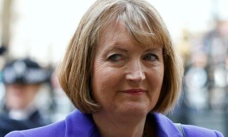 Harriet Harman as interim party leader