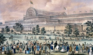 Augustus Butler's drawing of London's Crystal Palace in 1851.