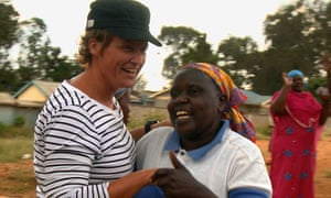 Charlotte Campbell-Stephen with the women of Kibera Women for Peace and Fairness.