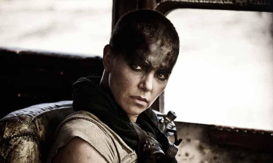 Charlie Theron as the Imperator Furiosa in Mad Max: Fury Road.