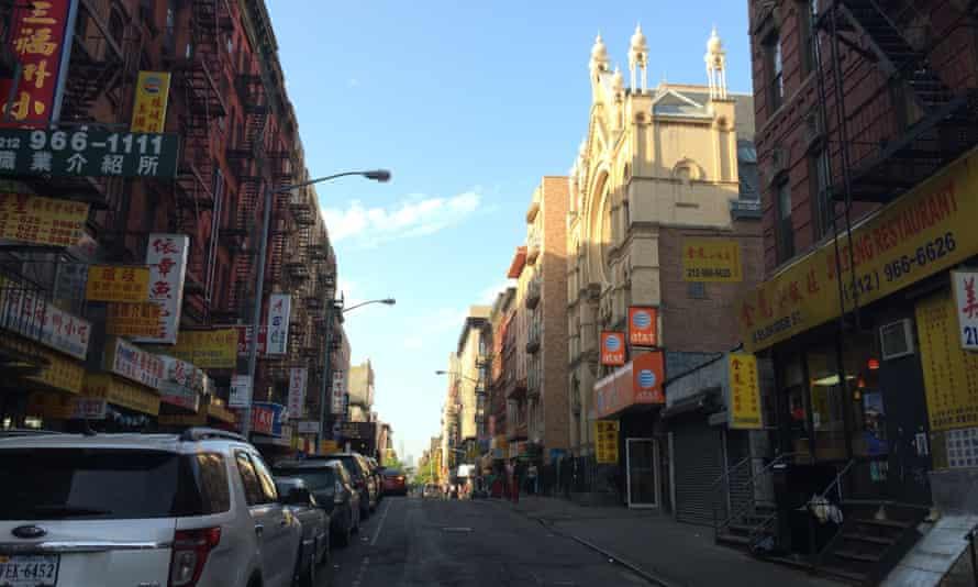 Eldridge Street in New York's Chinatown.