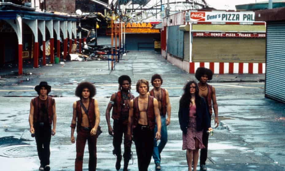 The Warriors, 1979 depicted Coney Island as a post-apocalyptic wasteland. The location was also used in many other films resembling an entirely different reality.