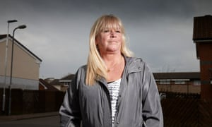 Benefits Street: Julie Young is one of the stars of the second series.