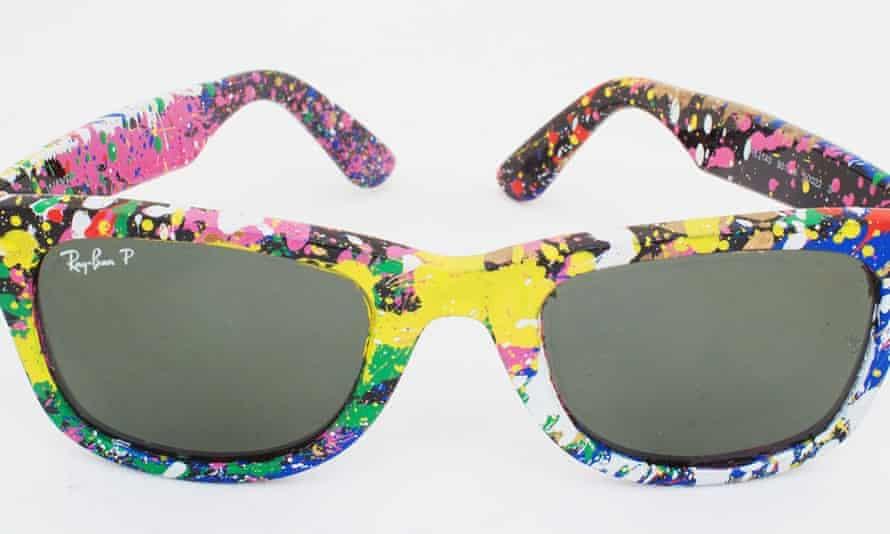 Sunglasses from the Mr Brainwash x Sunglasses Hut collaboration