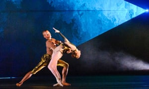 Eric Underwood and Sarah Lamb in Part 2: Becomings from Woolf Works by the Royal Ballet.
