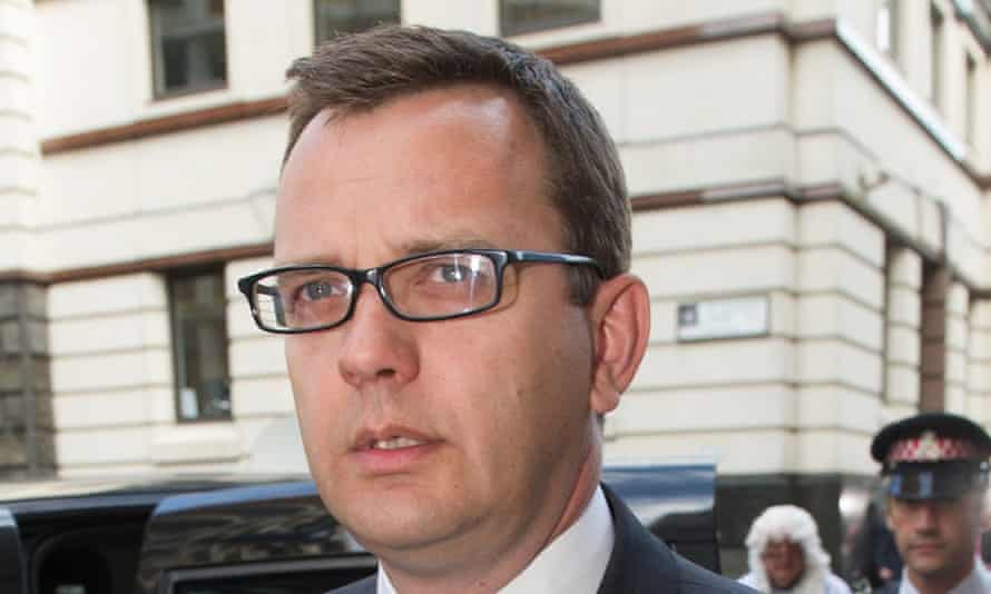 Andy Coulson, the former News of the World editor and director of communications for David Cameron.