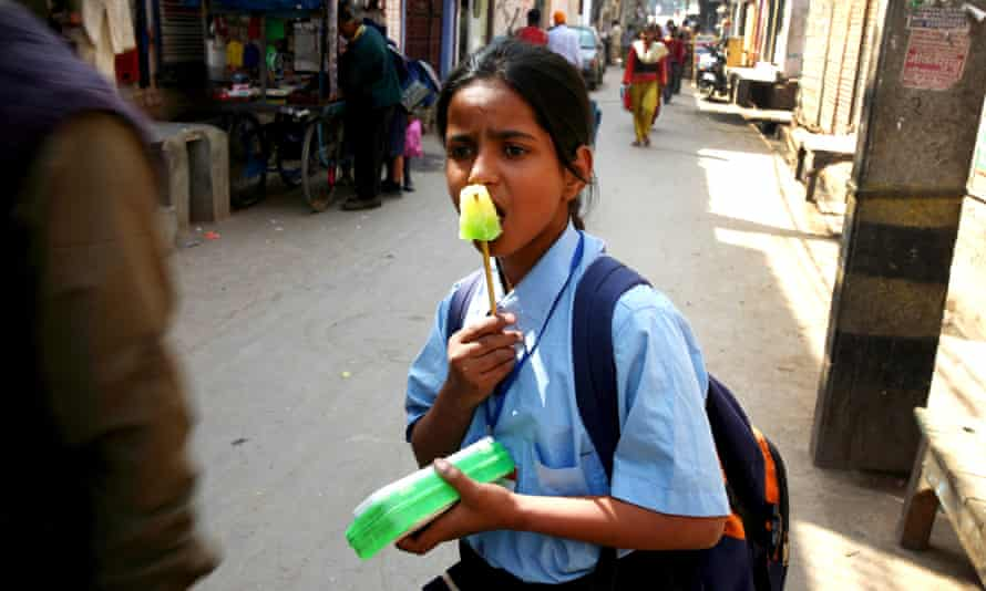 India child school uniform