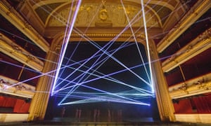 Lighting designer Lucy Carter fills the Royal Opera House with lasers for Becomings