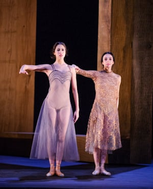 Beatriz Stix Brunell and Alessandra Ferri  in Part 1: I Now, I Then from Woolf Works.