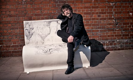 Neil Gaiman … 'astonishing flexibility and willingness to transcend genres'.