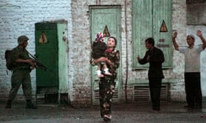 A woman caught up in the security crackdown after a popular uprising in Andijan in 2005. Uzbekistan