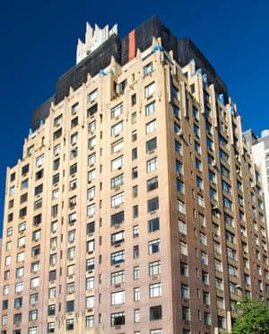 Ghostbusters 55 Central Park West Dana Barrett's apartment building is a beautiful art deco masterpiece along Central Park West