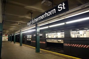 <strong>The Warriors, etc: </strong><strong>Hoyt-Schermerhorn subway station<br></strong>The decommissioned Hoyt-Schermerhorn platform continues its second life as a wonderful film shoot location, used in everything from The Warriors to Teenage Mutant Ninja Turtles to Michael Jackson's Bad to 2009's remake of The Taking of Pelham 1-2-3. When filming on live subway tracks, all production crew members are required to undergo safety training certification by the MTA, which includes lessons on crossing the third rail and how to avoid an oncoming train