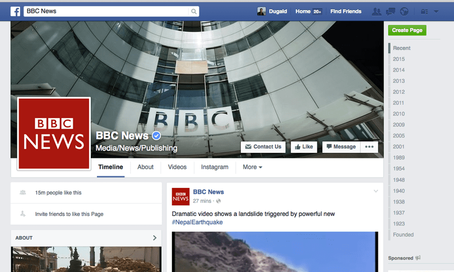 BBC News has signed up to the Facebook Instant Articles trial