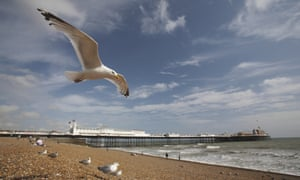 Built for crime ... Brighton beach.