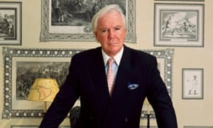 Tony O'Reilly in happier times. The former Heinz chairman in London in 1999.