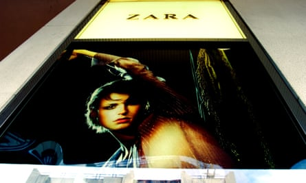Zara, the Spanish-owned clothes store on Oxford Street, London