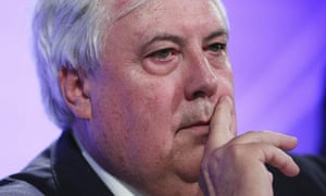 Founder of the Palmer United Party, Clive Palmer