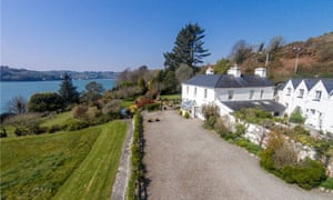 Shorecliffe House in Glandore, Co Cork. O'Reilly's holiday home was once valued at €4.3m but is now up for sale at €1,750,000.