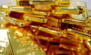 Gold in demand amid nervous markets.