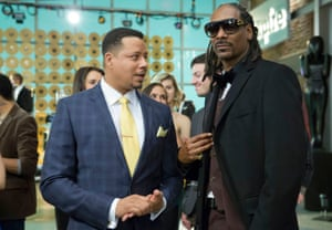 Terrence Howard and Snoop Dogg in Empire.