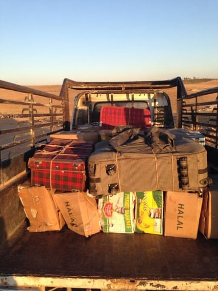 Evidence against the Assad regime is smuggled out of Syria by truck.