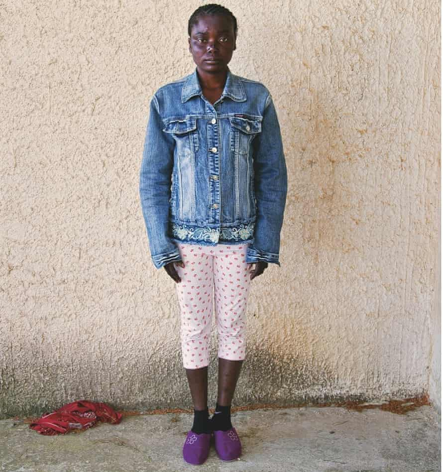 Promise, 26, Nigeria: 'Libya is a Muslim country; they don't like Christians like me.'