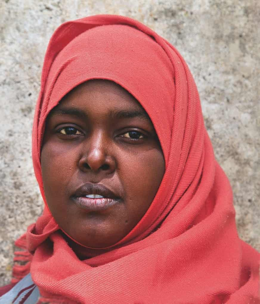 Maryan, 20, Somalia: 'I have a husband back home and two children.'