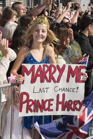 Royal fan Prince Harry