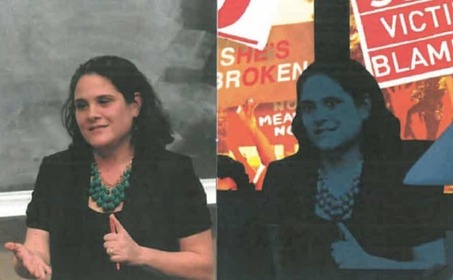 Dean Nicole Eramo UVA thumbs up Rolling Stone rape campus