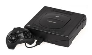5b2d8c9fc12 The Sega Saturn console, originally launched in Japan in the autumn of  1994. But it was the US unveiling that sealed its fate Photograph: public  domain