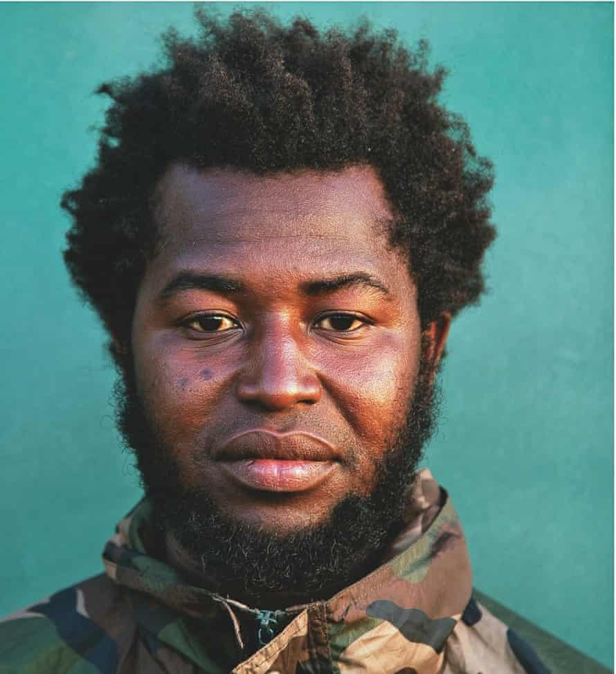 Kwane, 25, Ghana: 'From Libya you can't get a car or jump on a plane. If you try to cross the border, you will be shot.'