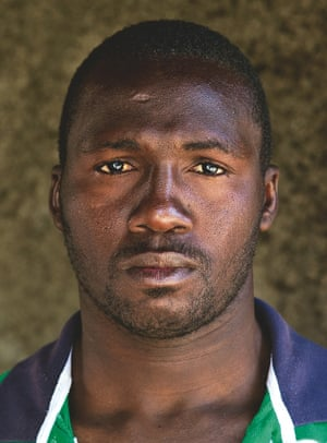 Karim, 30, Mali: 'I am here because of the war. One day I came home after work and found that my mother had been killed. My little sister had been killed. They were dead on the floor.'