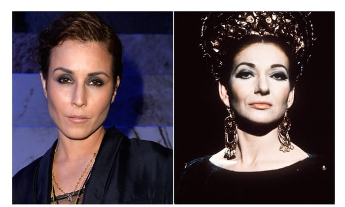 Noomi Rapace will be playing Maria Callas in a new biopic,