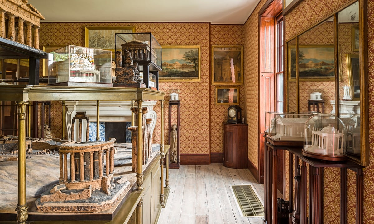 sir john soane s private apartments obsessive eccentric. Black Bedroom Furniture Sets. Home Design Ideas