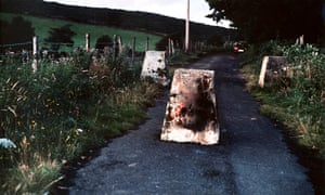 Border Road, 1994, by Willie Doherty